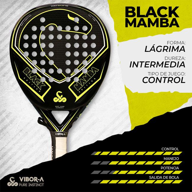 Características pala Black Mamba Edition 2019