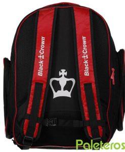 Espalda mochila roja Black Crown