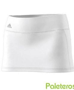 Falda Adidas Advantage Blanca