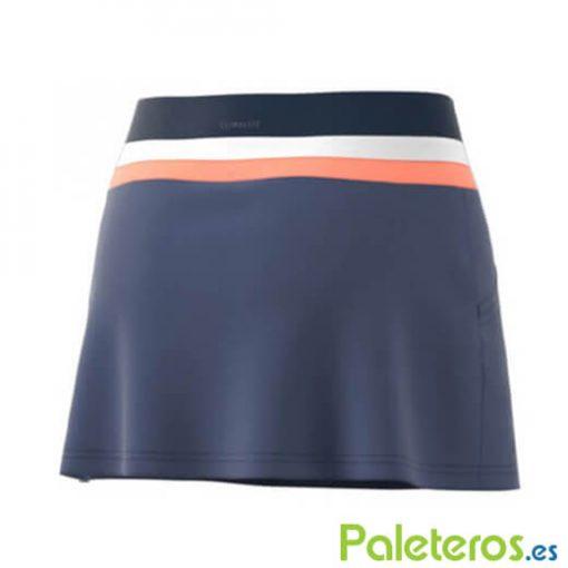 Falda Adidas Azul Club