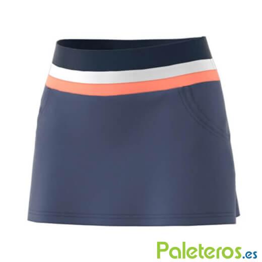 1a5a3fbe2 Falda Adidas Club Azul