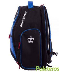 Mochila azul y negra de Black Crown