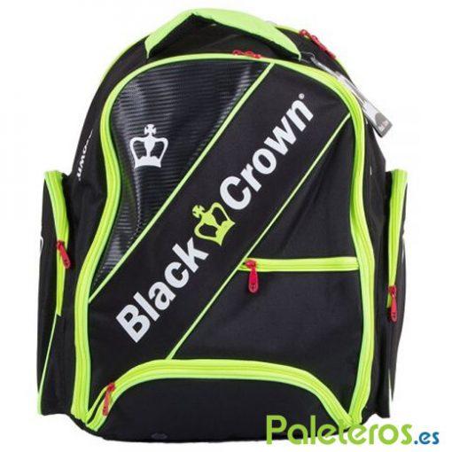 Mochila Black Crown negra-amarilla