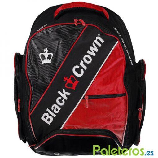 Mochila Black Crown roja-negra