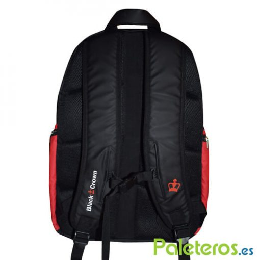 Mochila Black Crown Rojo 19