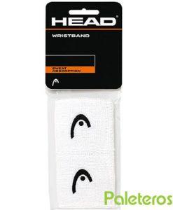 Muñequeras Blancas Head