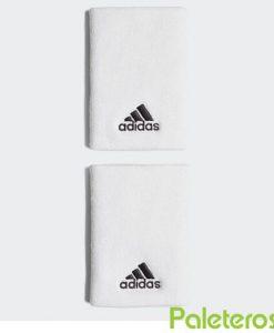Muñequeras Adidas Blanca Grande