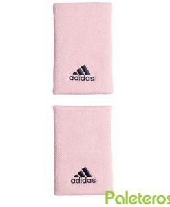 Muñequeras Adidas Grande Rosa