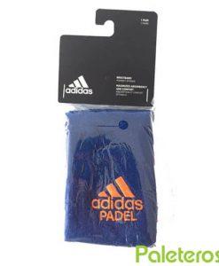 Muñequeras Adidas Padel Azules