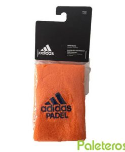Muñequeras Adidas Padel Naranjas