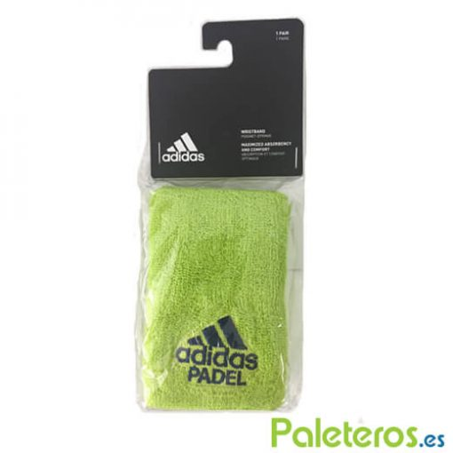 Muñequeras Adidas Padel Verde