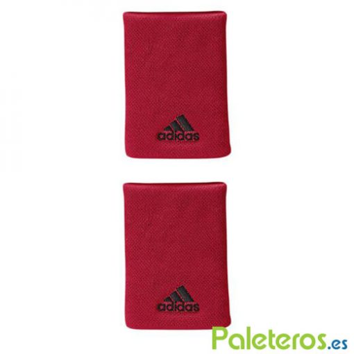 Muñequeras Adidas Red Grande