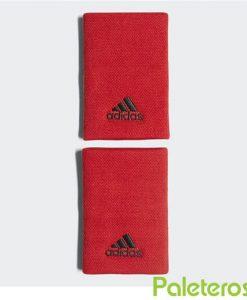 Muñequeras Adidas Roja Grande