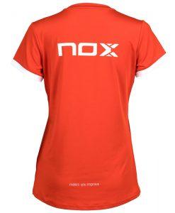 Nox Team Roja Mujer Camiseta