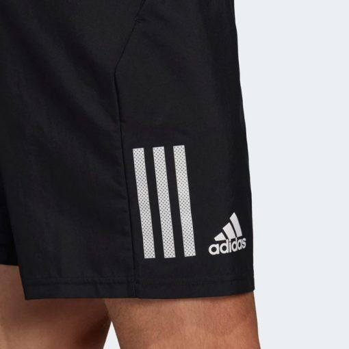 Pantalon Corto Adidas Club Negro Detalle