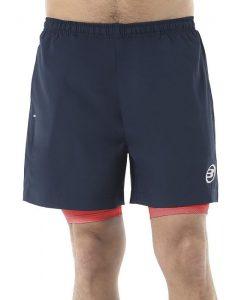Pantalon Corto Bullpadel Jasone Azul Marino