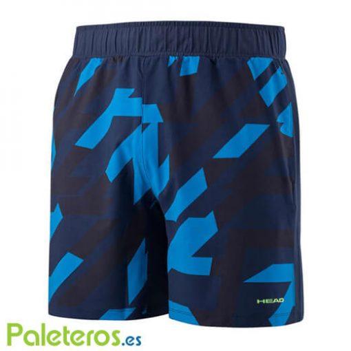 Pantalon Corto Head Vision Camo Azul