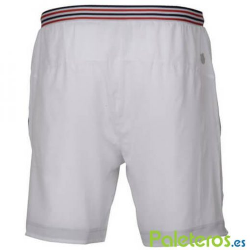 Pantalon Corto K-Swiss Heritage Blanco