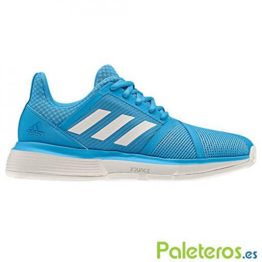 Zapatillas Adidas CourtJam Bounce Woman Clay Azul