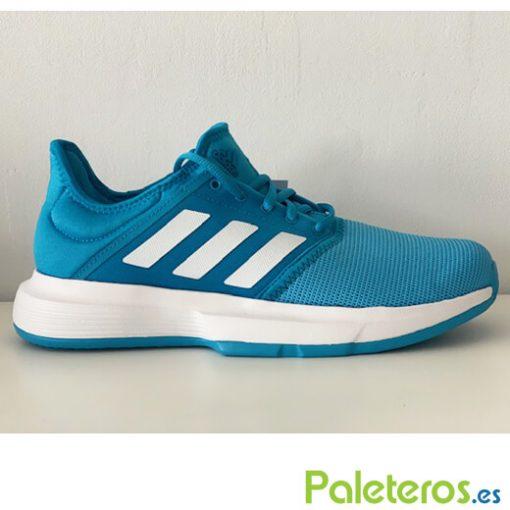 Zapatillas Adidas Game Court Azul