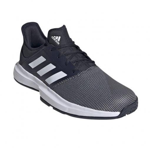 Zapatillas Adidas Gamecourt Azules-Blancas 21