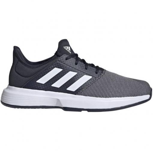 Zapatillas Adidas Gamecourt Azules-Blancas