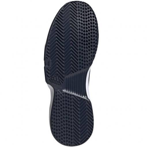 Zapatillas Adidas Gamecourt Azules-Blancas Suela
