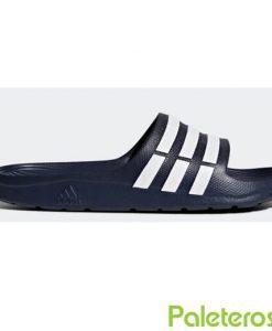 Chanclas Adidas Azules Oscuras