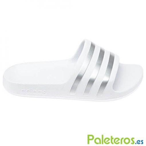 Chanclas Adidas Blancas