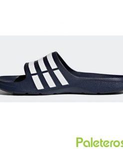 Chanclas Azules Oscuras Adidas
