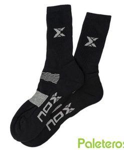 Hombre Negro Calcetines NOX