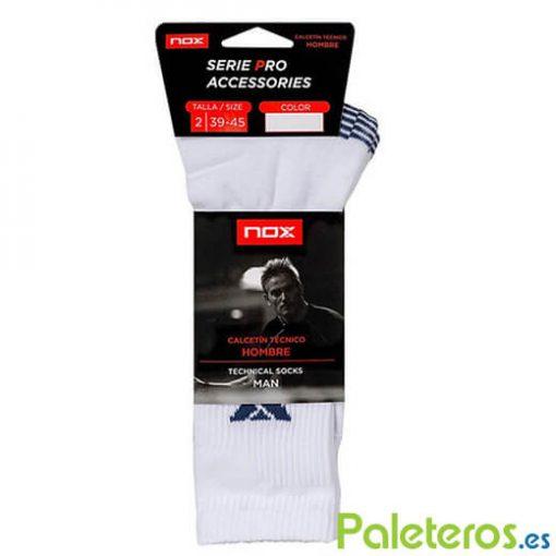 NOX Hombre Azul calcetines de pádel
