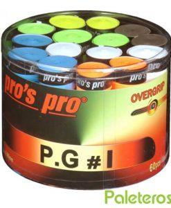 Tambor Overgrips Pros Pro Colores Perforados
