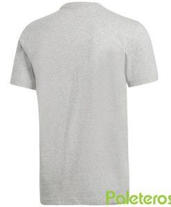Camiseta Adidas Gris Algodon 2019