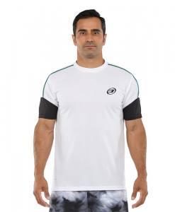 Camiseta Bullpadel Caqueta blanco