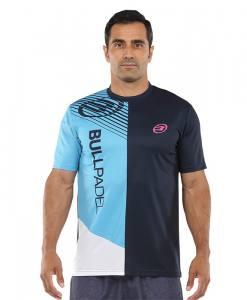 Camiseta Bullpadel Carte Azul oceano profundo