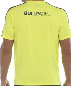 Camiseta Bullpadel Sansevi Amarilla 20