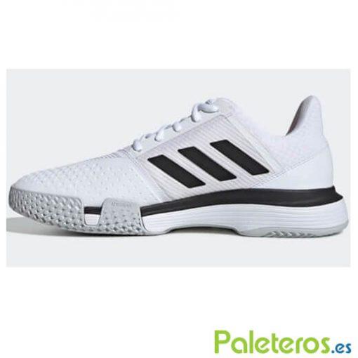 Courtjam Bounce Blancas-Negras Zapatillas Adidas
