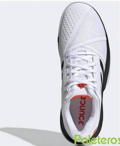 Zapatillas Adidas CourtJam Bounce Blancas-Negras 2019