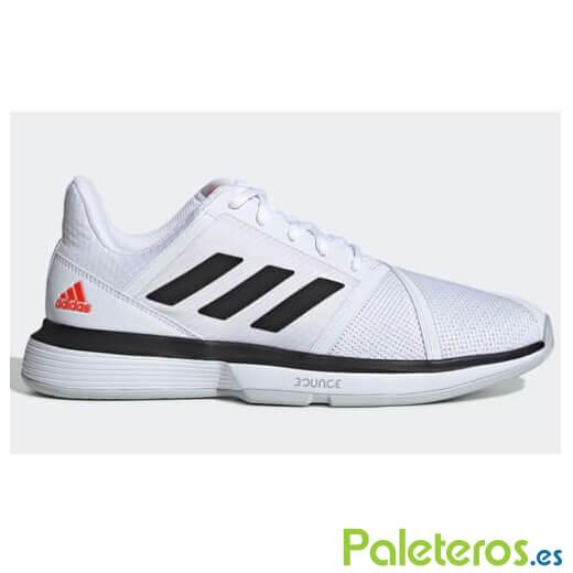fina artesanía lo último disponibilidad en el reino unido Zapatillas Adidas CourtJam Bounce Blancas-Negras - Paleteros.es