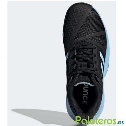 Zapatillas Adidas CourtJam Bounce Clay Negra-Azul Mujer 2019