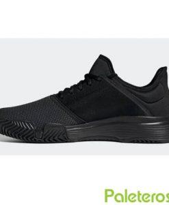Zapatillas Adidas GameCourt Negras 2019