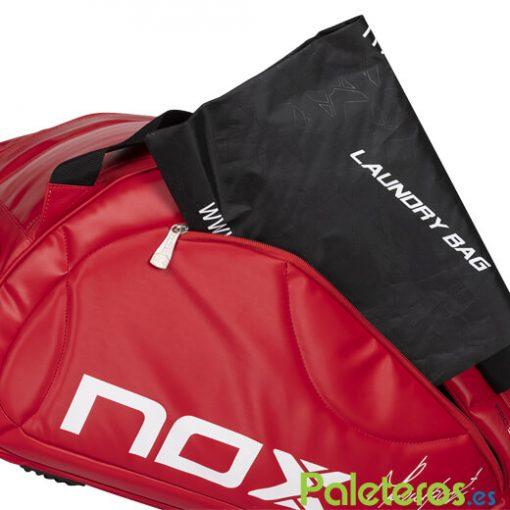 Detalle Paletero Nox Pro Rojo