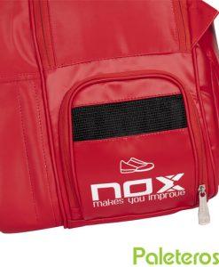 Paletero Nox Pro Rojo Detalle