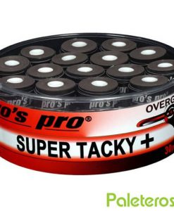 Tambor Overgrips Pro´s Pro Super Tacky Negros 30 uds