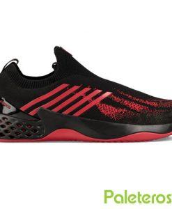 Zapatillas Kswiss Aero Knit negra-roja