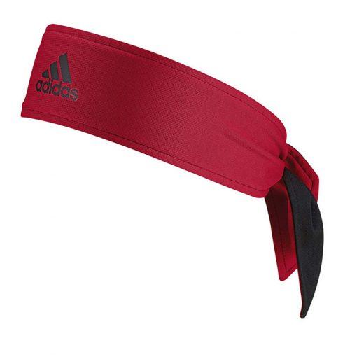 Banda Cabeza Adidas Negra-Roja