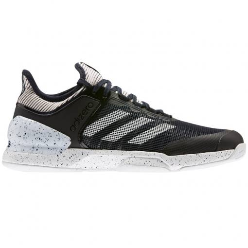 Zapatillas Adidas Adizero Ubersonic 2 Negras-Blancas