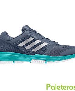 Zapatillas Adidas Barricade Club Woman Azules-Verdes