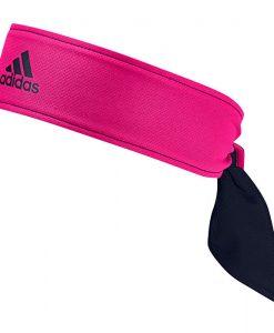 Banda Cabeza Adidas Azul-Rosa